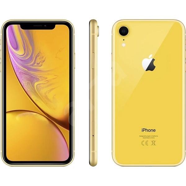 iPhone Xr 64 GB sárga - Mobiltelefon