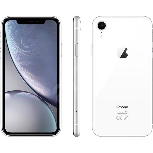 iPhone XR 128 GB fehér - Mobiltelefon