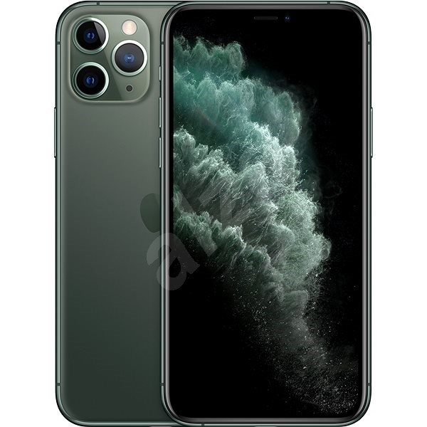 iPhone 11 Pro 64 GB éjzöld - Mobiltelefon