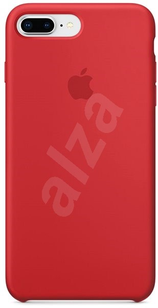 35401ab854 iPhone 8 Plus / 7 Plus Szilikon Tok - Vörös - Mobiltartó   Alza.hu