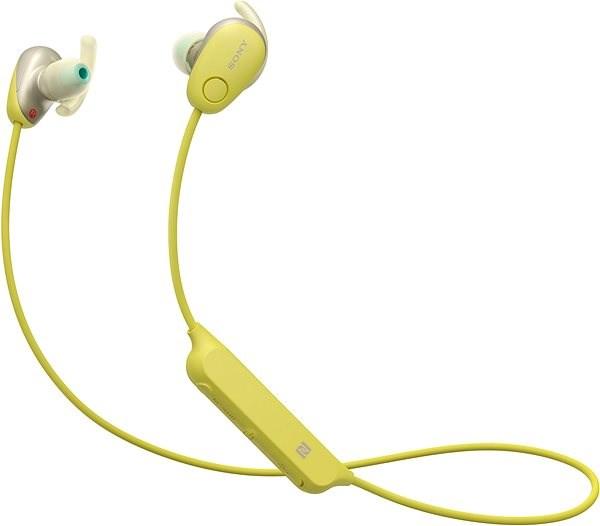 Sony WI-SP600N sárga - Vezeték nélküli fül-/fejhallgató