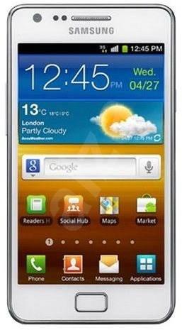 Samsung Galaxy S2 (i9100) Ceramic White - Mobile Phone