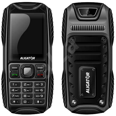 Aligator R10 extremes Dual SIM Black Grey  - Mobile Phone