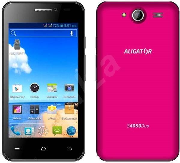 ALIGATOR Duo S4050 Pink - Mobile Phone