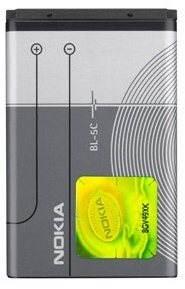 Nokia BL-5C Li-Ion 1020 mAh bulk - Mobiltelefon akkumulátor
