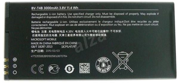 Nokia BV-T4B 3000mAh Li-Ion (Bulk) OEM - Mobiltelefon akkumulátor