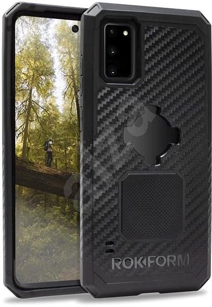 Rokform Rugged - Samsung Galaxy S20+ fekete színű készülékekhez - Mobiltelefon hátlap