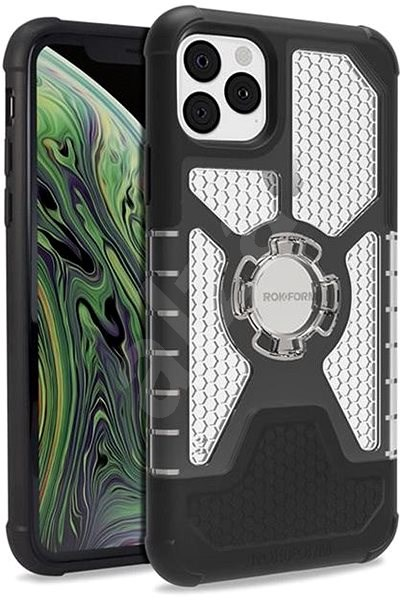 """Rokform Crystal iPhone 11 Pro Max 6.5"""" modellekhez, átlátszó - Mobiltelefon hátlap"""