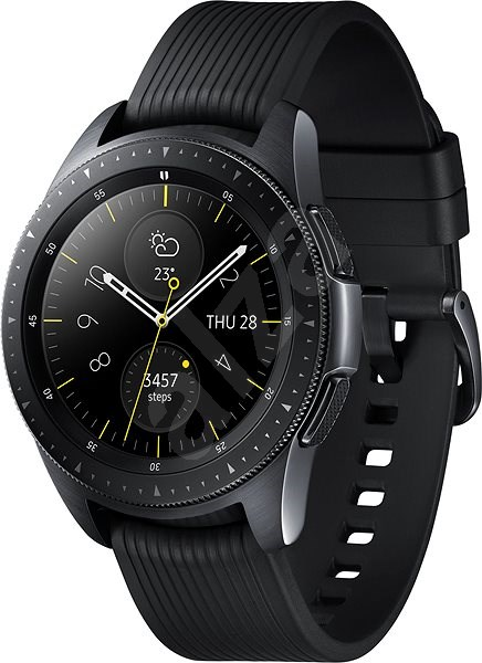 Samsung Galaxy Watch 42mm Black - Okosóra