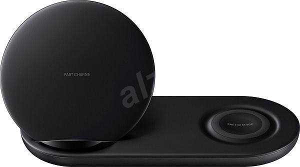 Samsung  Wireless Charger Duo fekete - Vezeték nélküli töltő