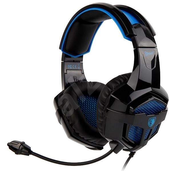 Sades B-Power fekete kék - Gamer fejhallgató  236be5e357