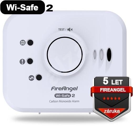 FireAngel CO Detektor W2-CO-10X-EU Wi-Safe 2 - Gázérzékelő