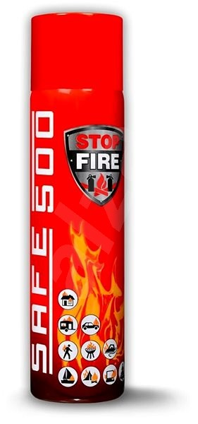 SAFE 500 Tűzoltó spray - Tűzoltó készülék