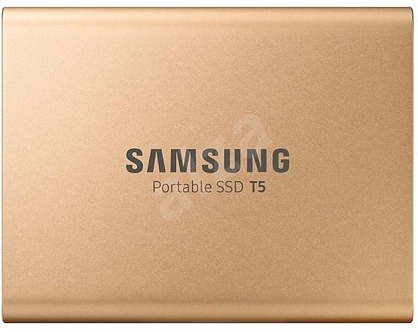 Samsung SSD T5 1TB, arany - Külső meghajtó