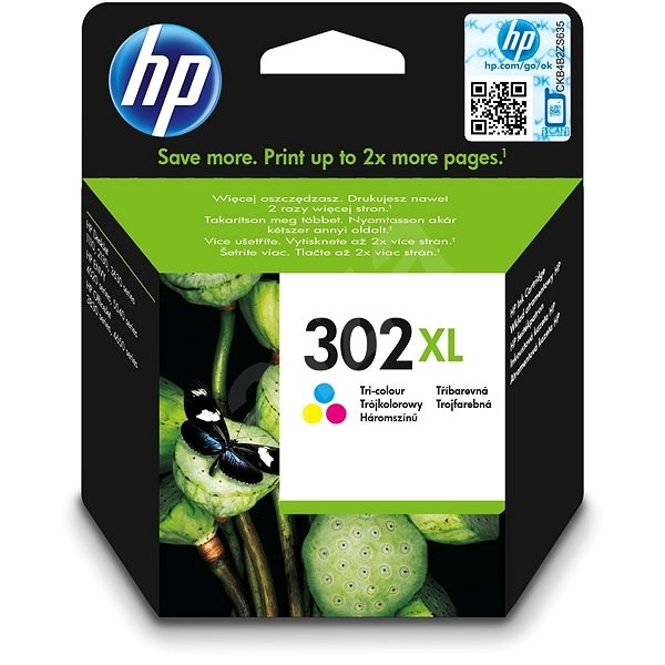 HP F6U67AE 302XL - Tintapatron