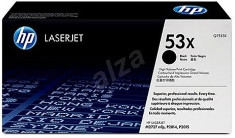 HP Q7553X 53X fekete - Toner