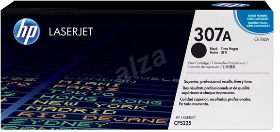 HP CE740A fekete - Toner