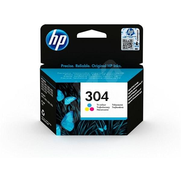 HP N9K05AE No. 304 Tri-color - Tintapatron