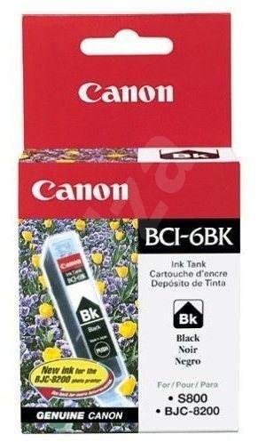 Canon BCI6BK fekete - Tintapatron
