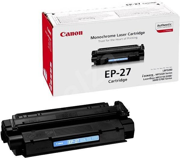 Canon EP27 fekete - Toner