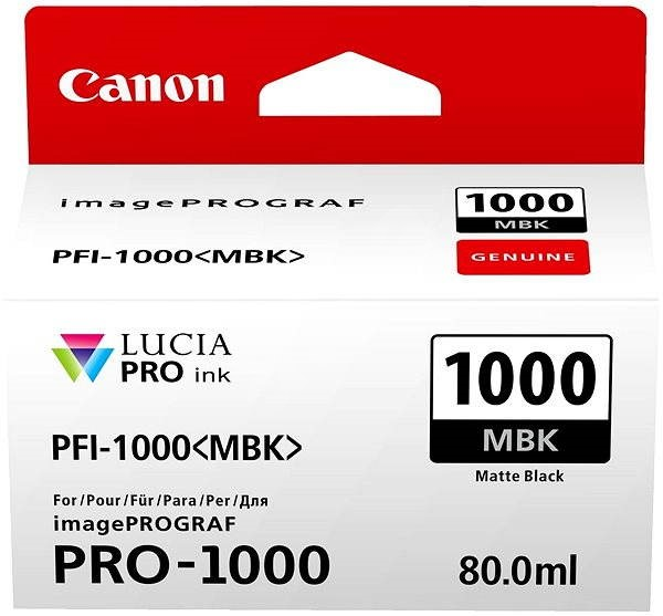 Canon PFI-1000MBK - Tintapatron