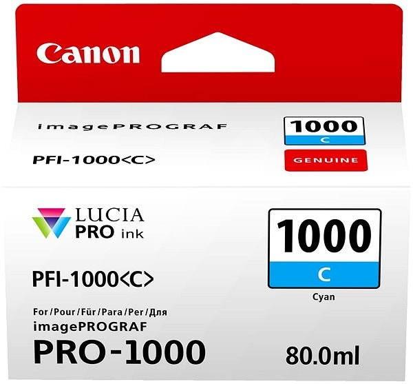 Canon PFI-1000C - Tintapatron