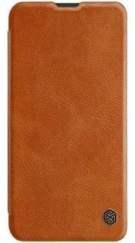 Nillkin Qin Book tok Honor 20 Lite készülékhez, barna - Mobiltelefon tok