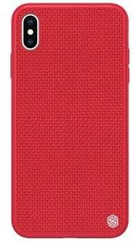Nillkin Textured Hard Case tok Apple iPhone X/XS készülékhez, piros - Mobiltelefon hátlap