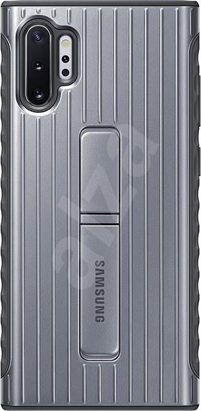 Samsung edzett hátlap védőtok Galaxy Note10+ készülékhez, ezüst - Mobiltelefon hátlap