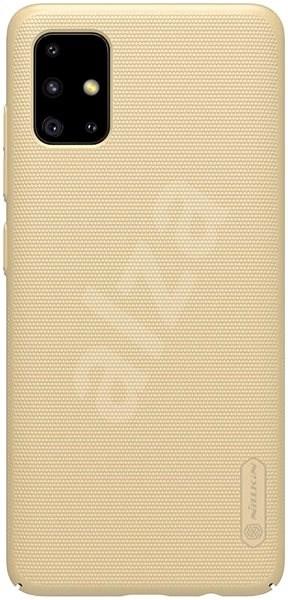 Nillkin Frosted hátlap tok Samsung Galaxy A51 készülékhez, arany - Mobiltelefon hátlap