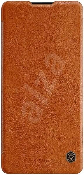 Nillkin Qin tok Samsung Galaxy S10e készülékhez, barna - Mobiltelefon tok