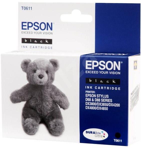 Epson T0611 fekete - Tintapatron