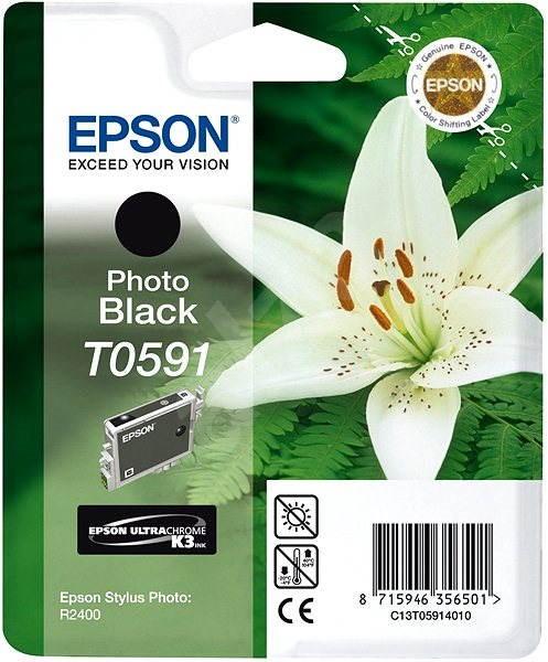Epson T0591 fekete - Tintapatron
