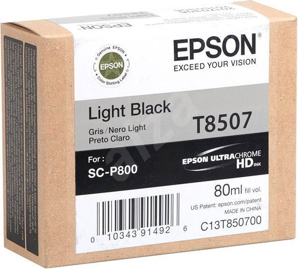 Epson T7850700 tintapatron - világos fekete - Tintapatron