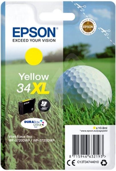 Epson T3474 sárga XL - Tintapatron