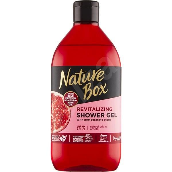 NATURE BOX Shower Gel Pomegranate 385 ml - Tusfürdő zselé