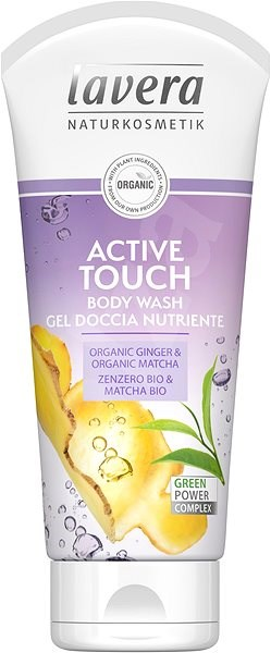 LAVERA Body Wash Active Touch 200 ml - Tusfürdő zselé