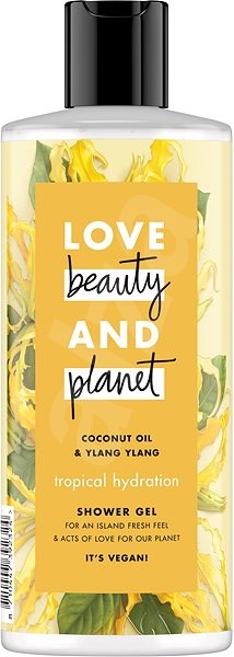 LOVE BEAUTY AND PLANET Tropical Hydratation Shower Gel 500 ml - Tusfürdő zselé