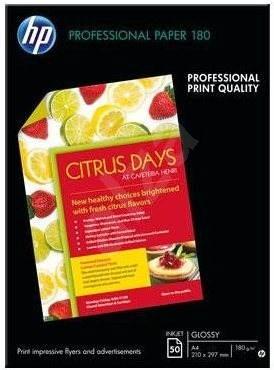 A HP professzionális tintasugaras papír, fényes, A4 - Fotópapír