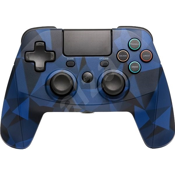 SNAKEBYTE GAME:PAD 4 S WIRELESS CAMO BLUE - Kontroller