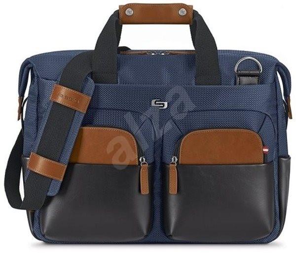 Solo Sag Harbor Briefcase Blue 15.6 laptop táska - Laptoptáska  3e26e09a56