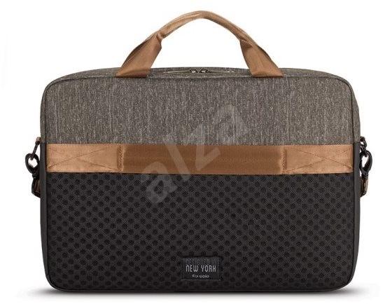 """Solo Frequency Briefcase Black/Gray 15.6"""" laptop táska - Laptoptáska"""