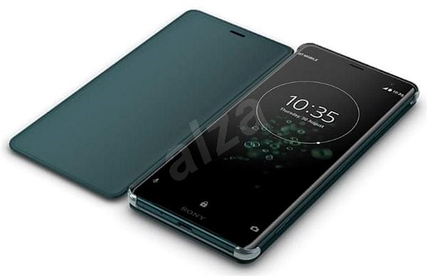 Sony SCSH70 Style Cover Stand Xperia XZ3, zöld - Mobiltelefon tok