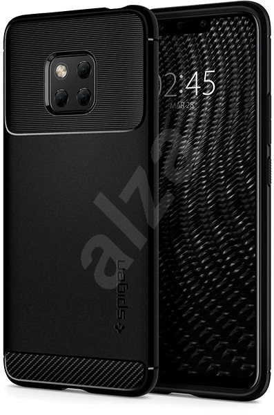 Spigen Rugged Armor Huawei Mate 20 Pro fekete - Mobiltelefon hátlap