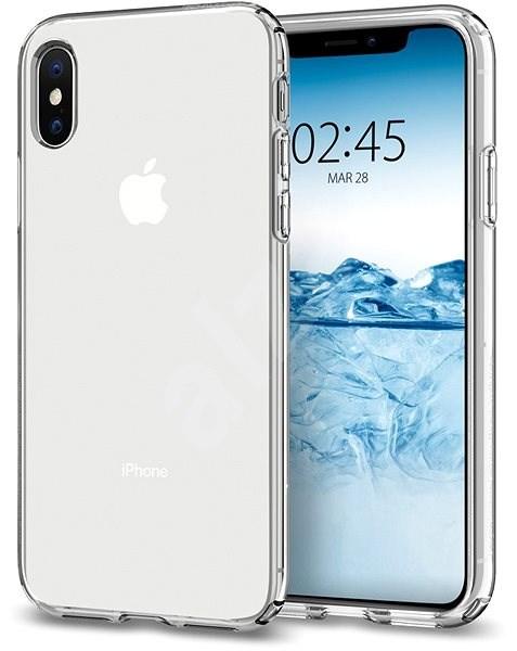 Spigen Liquid Crystal Clear iPhone XS/X - Mobiltelefon hátlap