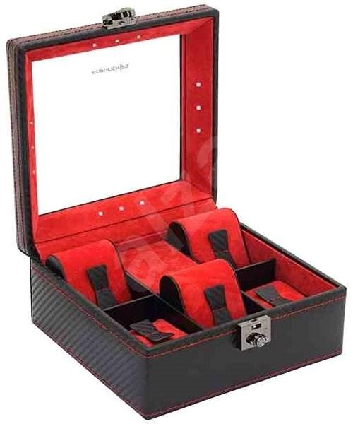 FRIEDRICH LEDERWAREN 32058-2 - Óratartó doboz