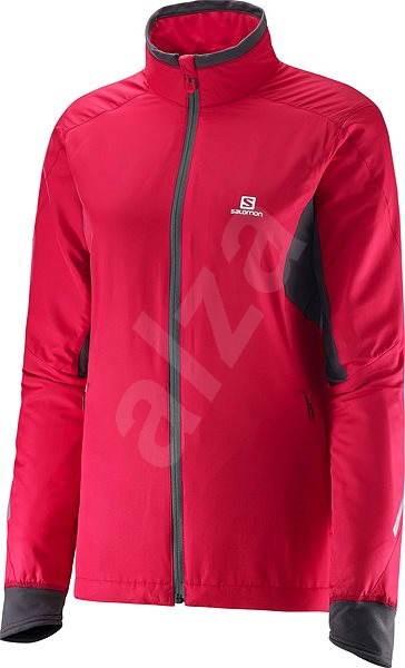 Salomon Escape Jacket Pink Lotus W   L Galet Grey - Motoros kabát ... d9eb64e05e