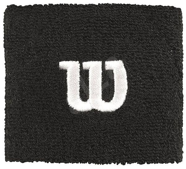 Wilson W Wristband Black - Csuklópánt