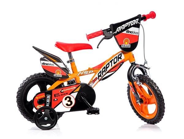 Dino bikes 12 Raptor - Gyerek kerékpár