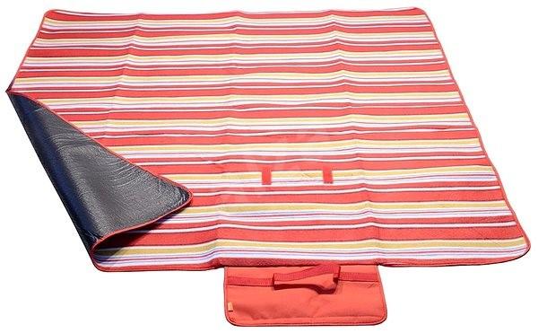 Cattaro gyapjú piknik takaró, piros - Piknik takaró